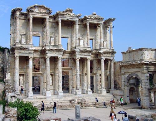 before in greek
