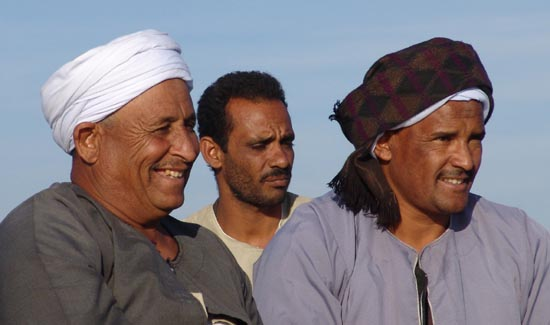 The Egyptian men had very expressive faces  maybe from the dry heat Egyptian Guys